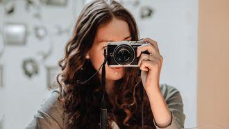 mooi op foto's