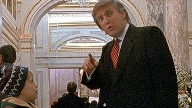 Trump in Home Alone