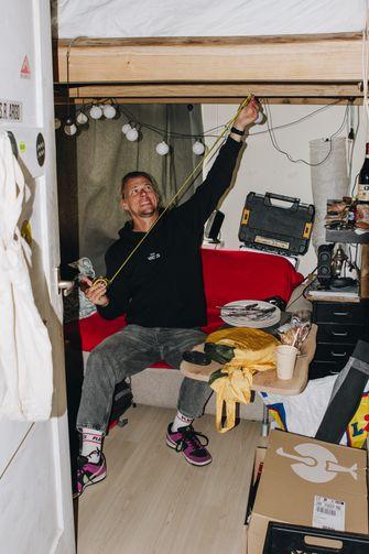 Sander Hoogendoorn, 3fm, Karigste Kamer, studentenwoningnood