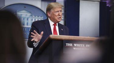 Trump: 'Ik zal corona niet langer het 'Chinese virus' noemen'