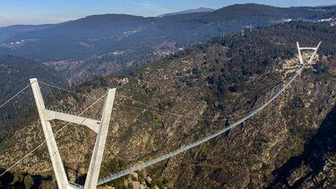 Portugal, brug, hoogtevrees