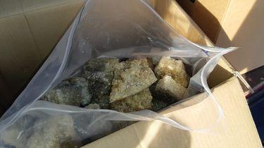 MDMA met straatwaarde van 100 miljoen onderschept