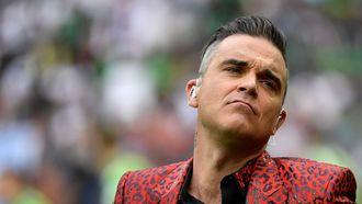 Robbie Williams praat plat Amsterdams