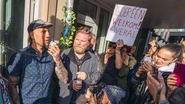 restaurant waku waku utrecht demonstranten rechter