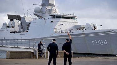 Foto van marineschip De Ruyter
