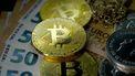 Een foto van een aantal bitcoins