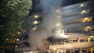 Bashir K. vermoordde zijn zwangere vrouw en stak daarna zijn flat in brand