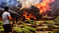 bosbranden, Griekenland, curaçao, avondklok