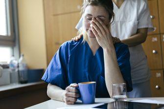 Torenhoge werkdruk in de zorg