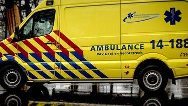 Ambulance botsing zweefvliegtuigjes