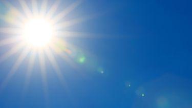 Een foto van een zon