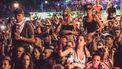 Een foto van het publiek van festival Exit