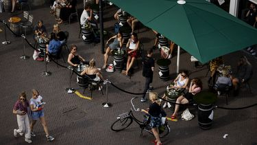 Een foto van horeca aan de Neude in Utrecht