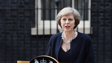 De Britse premier Theresa May. Foto: EPA | Andy Rain