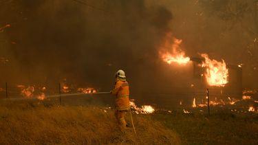 Sydney is omgeven door vuur, inwoners moeten thuis blijven