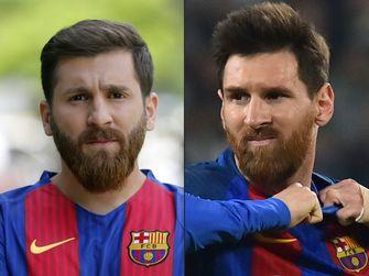 En de échte Messi is...? / AFP