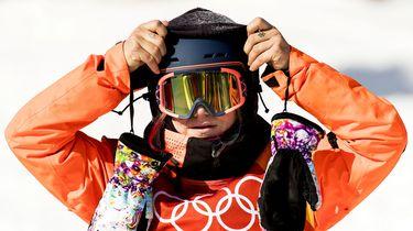Snowboardster Cheryl Maas stelt teleur en baalt