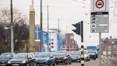 'Amsterdam wil tolheffing voor auto's in binnenstad'