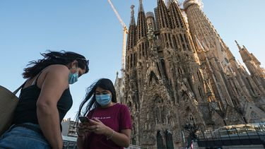 foto van Sagrada Familia