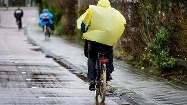 Noodweer in Nederland regen./ ANP