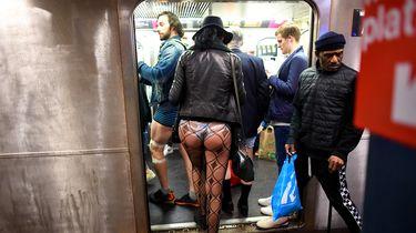 Vandaag is dé dag om zonder broek met de metro te gaan