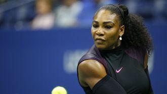 Serena Williams won begin dit jaar nog de Australian Open
