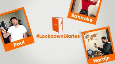 Millenials luchten online hun hart in 'lockdown dagboek'