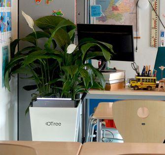 OTree, Lilly, klaslokalen, luchtkwaliteit