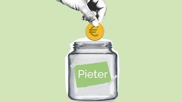 spaarrekening van Pieter