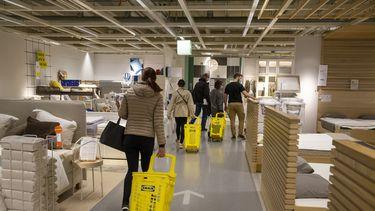 Winkelen bij IKEA
