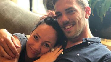 foto van boerin Michelle en Maarten