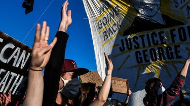 Betogers Minneapolis George Floyd