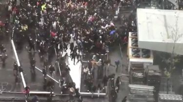 Rellen in Brussel na oproep Instagram-ster
