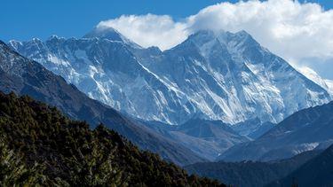 De Mount Everest eerder in 2020.