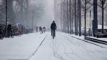 Bewijs; het heeft écht gesneeuwd in Nederland