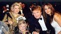 Oude foto van de Trump familie