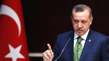 De Turkse president Erdogan. Foto: ANP