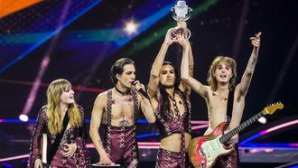 italië, måneskin, finale, eurovisie songfestival, uitslag songfestival, snuifgate