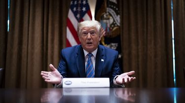 Foto van president Trump