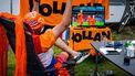 Oranje EK voetbal voetbalschermen