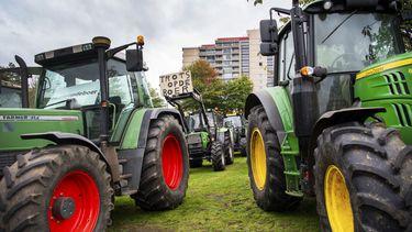 Boerenprotest leidt tot files op snelwegen