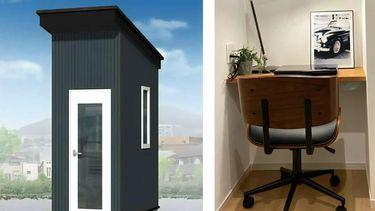 kantoortje kantoor tiny office japanners thuiswerken
