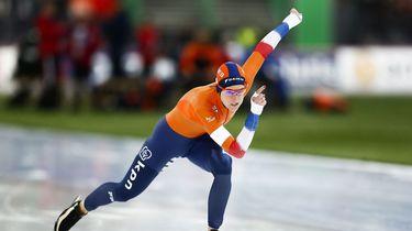Schaatskoningin Wüst verovert zevende wereldtitel