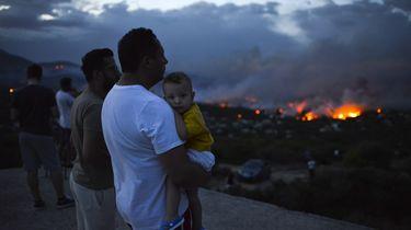 20 doden en 90 gewonden door Griekse bosbranden