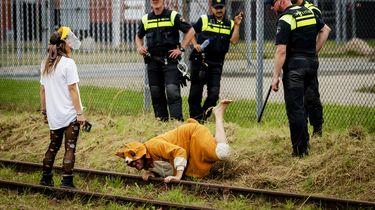 Gewonden bij demonstratie gaswinning Groningen