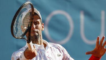 Op deze foto zie je Novak Djokovic.