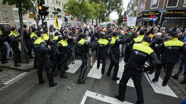 25 keer per dag geweld gebruikt tegen politieagenten