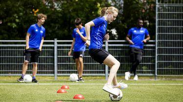 Een foto van sportende leerlingen op een mbo in Utrecht