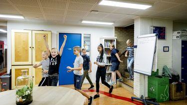Veel leerlingen van de basisschool hebben vandaag geen les. Foto: ANP