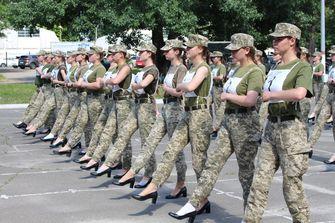 Leger pumps Oekraïne